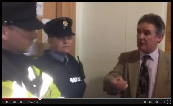 Citizens arrest police and court officials in Ireland..